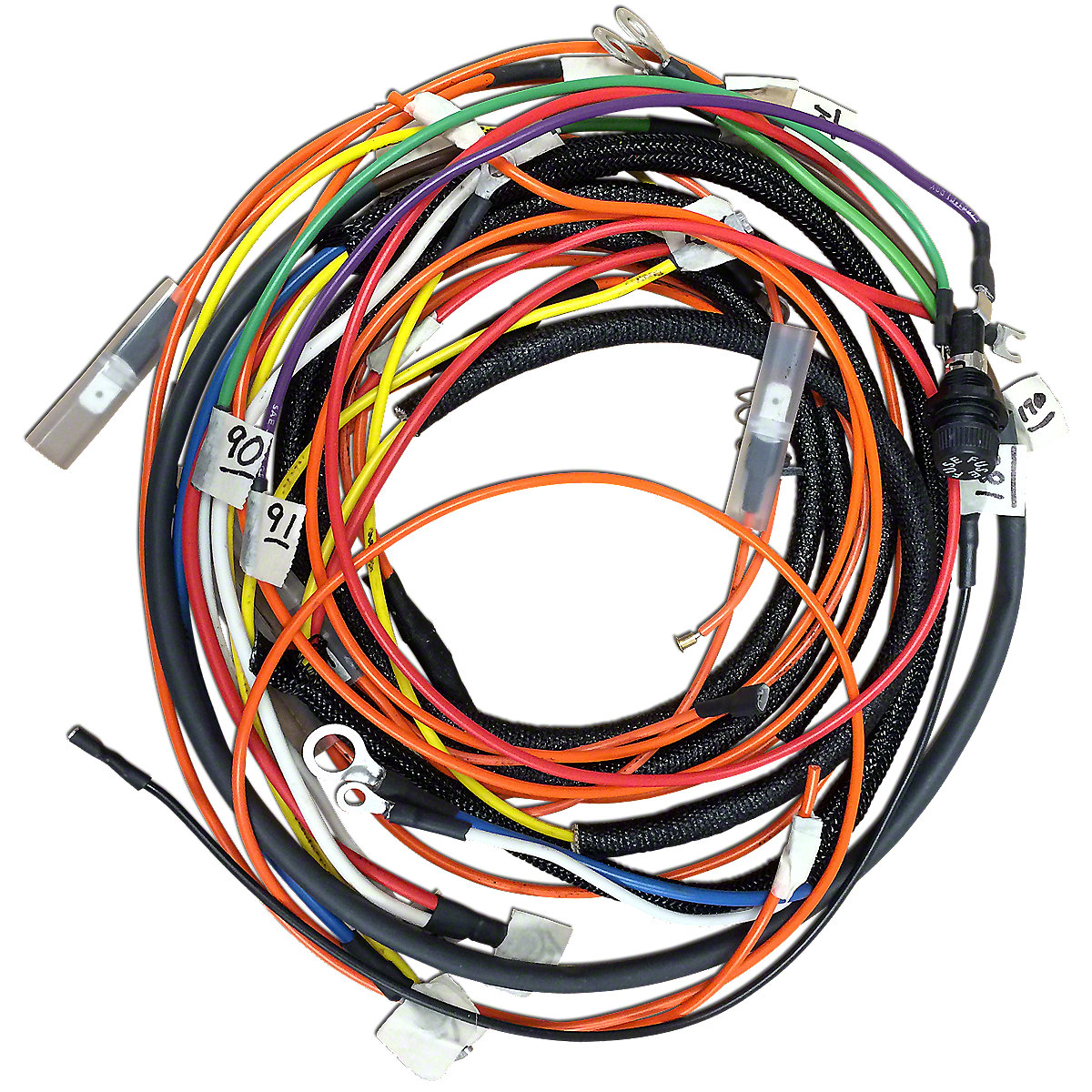 Lighting Wire Harness Kits Allis Chalmers Parts Oktractor Wiring Kit Series Ii